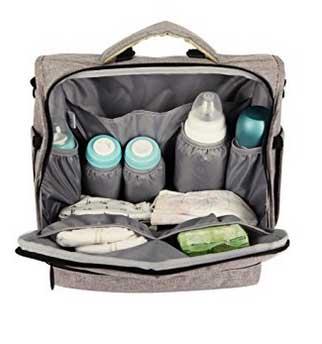 Lekebaby Backpack Diaper Bag
